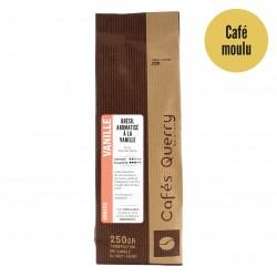 Café moulu , aromatisé Vanille