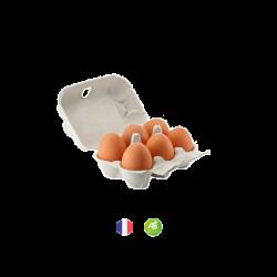 6 œufs bio