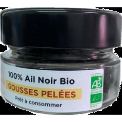 GOUSSES D'AIL NOIR PELEES BIO