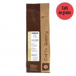 Café grain , goût Suisse .